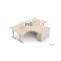 Meble :: Biurka :: Ergonomic Master biurko kształtowe 160 cm - BR66