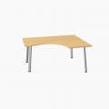 Meble :: Biurka :: Ogi A biurko kształtowe 160 cm - BAG11
