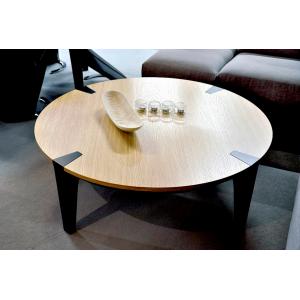 Stoliki kawowe, Ławy do salonu - okrągłe, szklane, nowoczesne