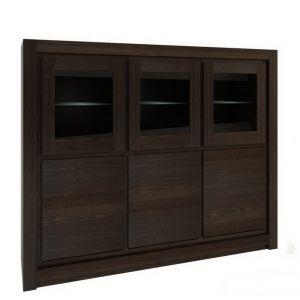 Witryny do salonu, jadalni - drewniane, na nóżkach, nowoczesne i klasyczne