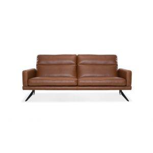 Meble industrialne Gala Collezione - Genova. Zestaw mebli pufa, sofa 2-osobowej, sofa 3-osobowa.
