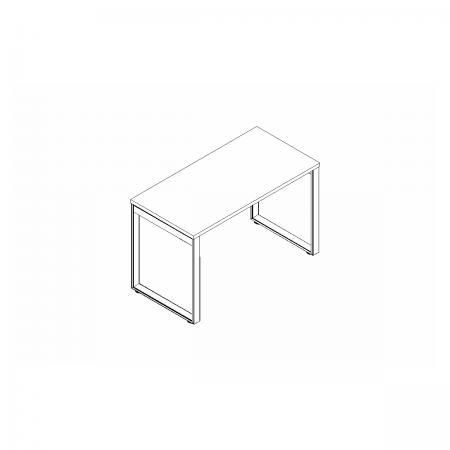 Meble :: Biurka :: Ogi Q biurko proste 160 cm - BOQ04