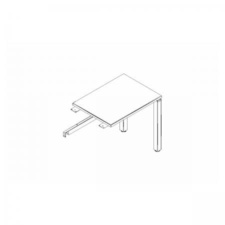 Meble :: Biurka :: Yan C przystawka do biurka - PLC01