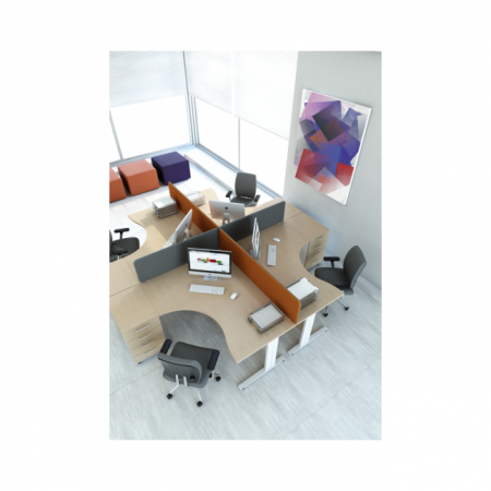 Meble :: Biurka :: Ogi N biurko kształtowe 180 cm - BNG18