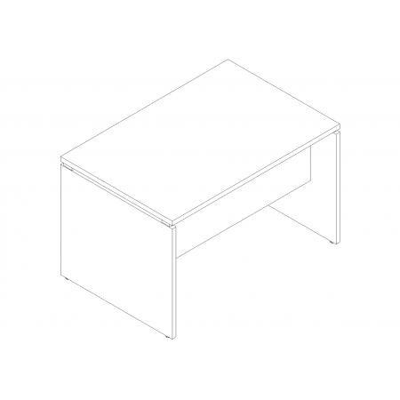 Meble :: Biurka :: Ogi V biurko proste 120 cm - BVG02