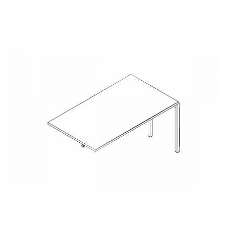 Meble :: Biurka :: Ogi Y element do tworzenia układów biurek 140 cm - BOX34