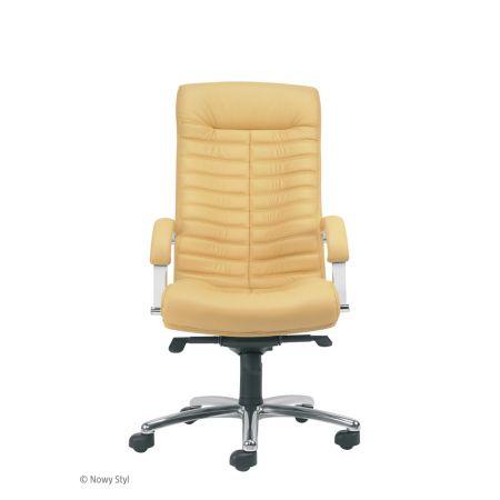 Meble :: Krzesła i Fotele Biurowe :: ORION steel 04 chrome - mechanizm Multiblock - skóra