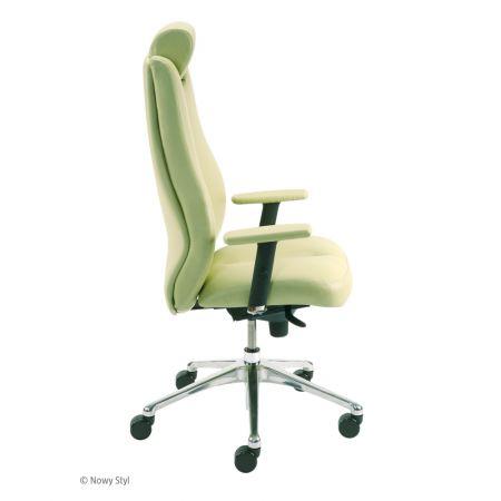 Meble :: Krzesła i Fotele Biurowe :: SONATA LUX HRU R15 STEEL 28 - mechanizm Epron Syncron - tkanina