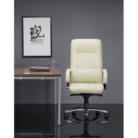 Meble :: Krzesła i Fotele Biurowe :: STAR steel 04 chrome - mechanizm Multiblock - tkanina