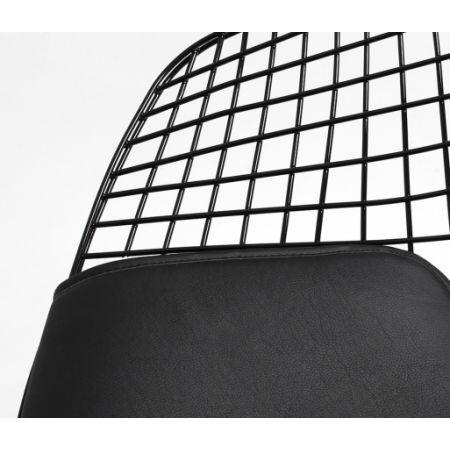 Meble :: Krzesła :: Diament Chair - czarny, poduszka czarna