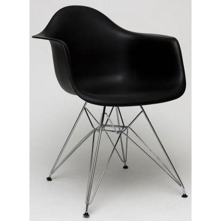 Meble :: Krzesła :: Krzesło P018 inspir. DAR - czarny