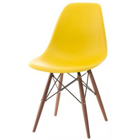 Meble :: Krzesła :: Krzesło PC016W PP inspir. DSW dark - żółty