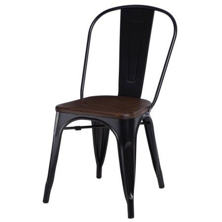 Meble :: Krzesła :: Krzesło Paris Wood - czarne sosna orzech