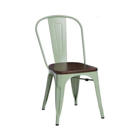 Meble :: Krzesła :: Krzesło Paris Wood - zielone sosna orzech
