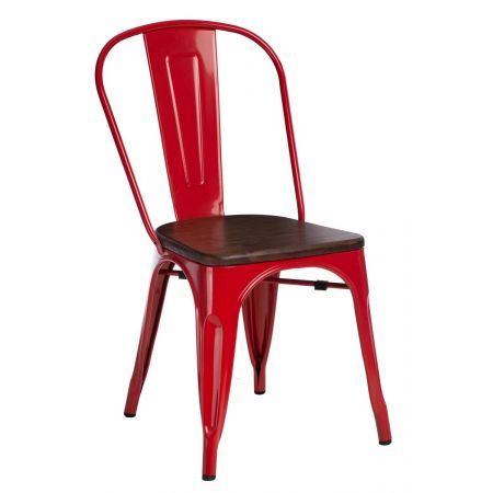 Meble :: Krzesła :: Krzesło Paris Wood - czerwone sosna orzech