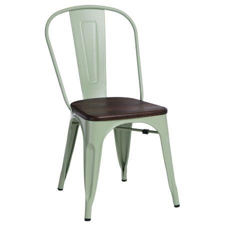 Meble :: Krzesła :: Krzesło Paris Wood - zielone sosna szczotkowana