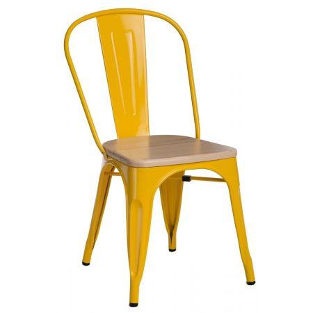 Meble :: Krzesła :: Krzesło Paris Wood - żółte sosna naturalna