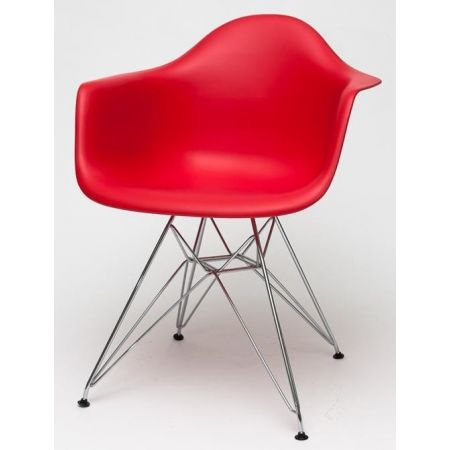 Meble :: Krzesła :: Krzesło P018 inspir. DAR - czerwony