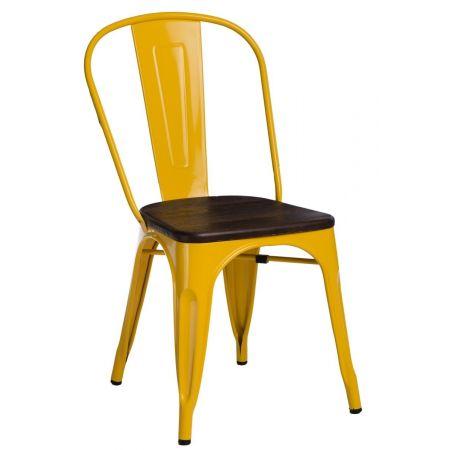Meble :: Krzesła :: Krzesło Paris Wood - żółte sosna szczotkowana