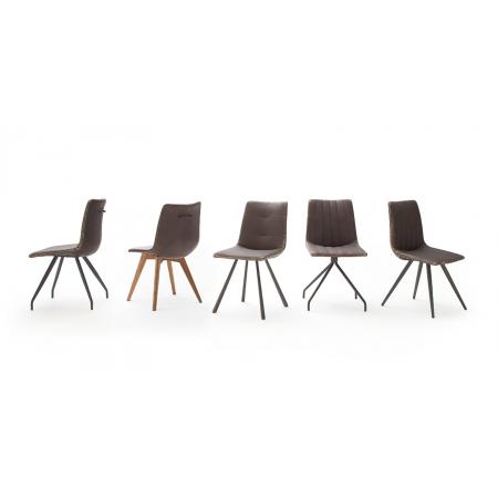Pomieszczenia :: kuchnia :: Alessia H krzesło - ekoskóra