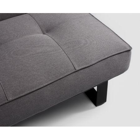 Meble :: Sofy :: Sleek sofa 3R - funkcja spania - stalowy