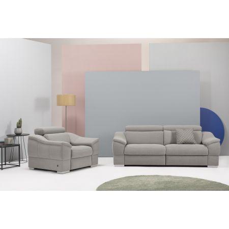 Marki :: Etap Sofa :: Urbano sofa 2RF z podwójnym relaksem elektrycznym