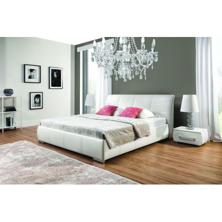 Łóżko tapicerowane Apollo S łóżko 120 - tkanina Kraków