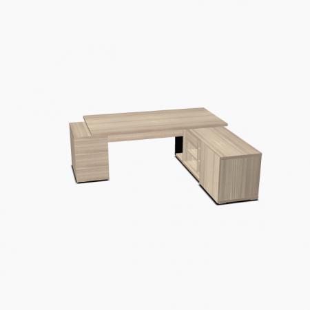 Meble :: Biurka :: Mito biurko z szafką managerską 230 cm - MIT2KD