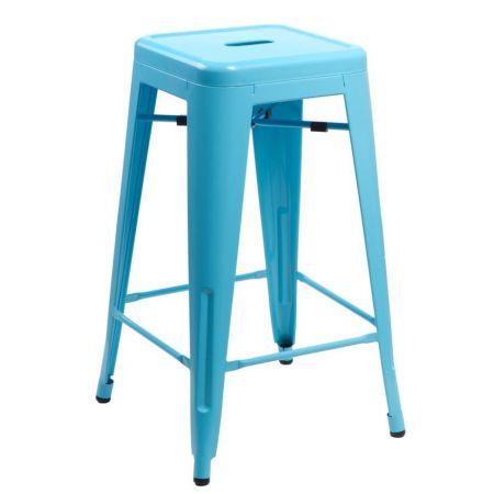 Meble :: Hokery :: Paris 75cm hoker - niebieski
