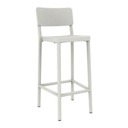 Meble :: Hokery :: Lisboa 75 stołek barowy biały