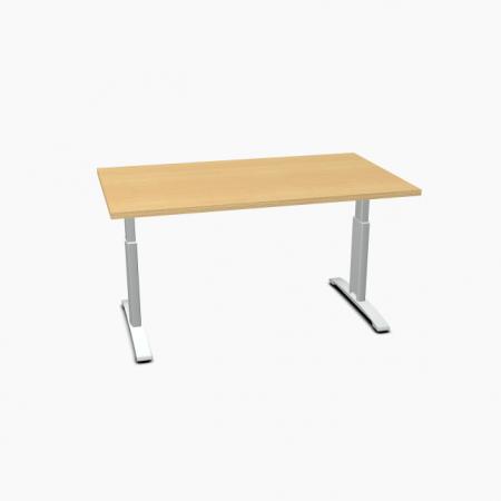 Meble :: Biurka :: Ergonomic Master biurko z manualną regulacją wysokości 140 cm - BR64R